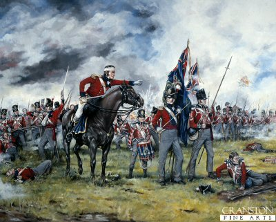 Royal Scots at Waterloo by Brian Palmer (AP)