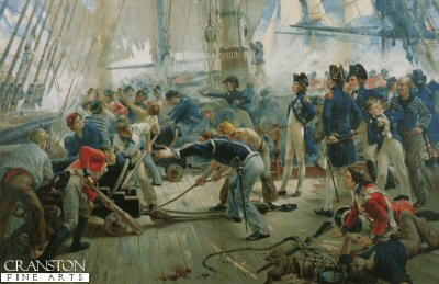 The Hero of Trafalgar by William Hersman Overend.