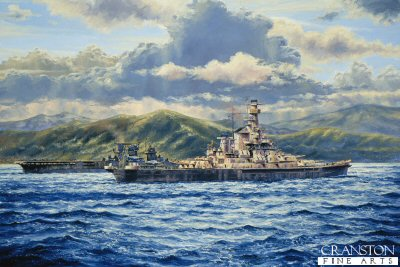 USS Indiana, First Tour of Duty by Anthony Saunders