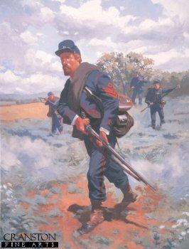 Sergeant 23rd Pennsylvania Infantry Zouaves 1863 by Jim Lancia.