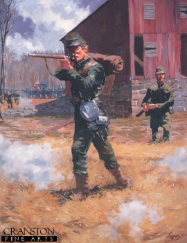 Berdans Sharpshooters 1864 by Jim Lancia.