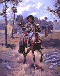 2nd Virginia Cavalry 1861, by Jim Lancia.