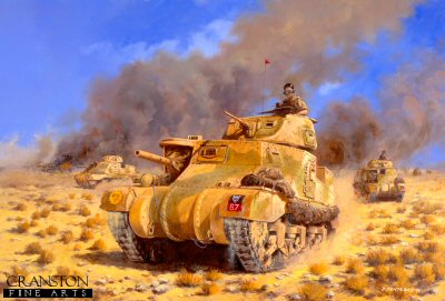 Operation Supercharge, 4th November 1941 by David Pentland.