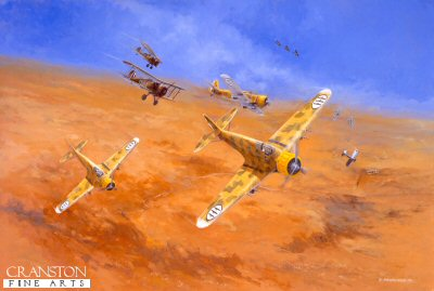 Pattles First Victory, 4th August 1940 by David Pentland.