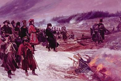 Burning the Eagles on the Retreat From Moscow by Richard Caton Woodville (GS)