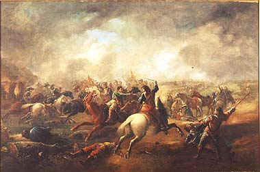 The Battle of Marston Moor by J. Barker.