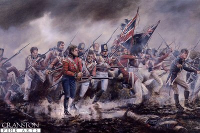 The Fusiliers at the Battle of Albuera by David Rowlands (GS)