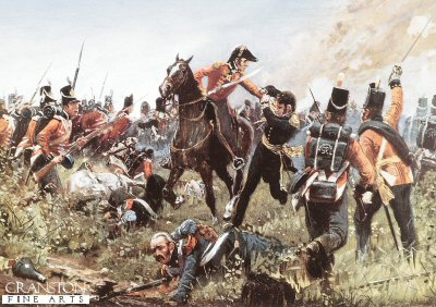 The Capture of General Cambronne by Richard Knotel. (Y)