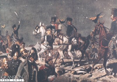 The Night of Victory at Belle-Alliance by Richard Knotel. (Y)