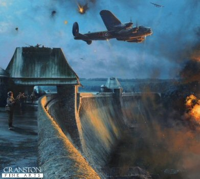 The Dambusters - Last Moments of the Möhne Dam by Robert Taylor.