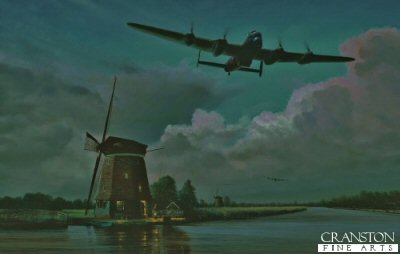 On Course for the Möhne Dam by Richard Taylor.