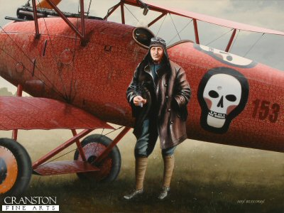 Godwin von Brumowski by Ivan Berryman. (AP)