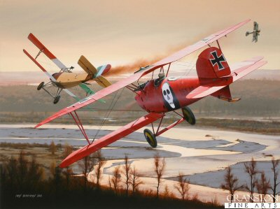 Duel Above the Piave by Ivan Berryman.