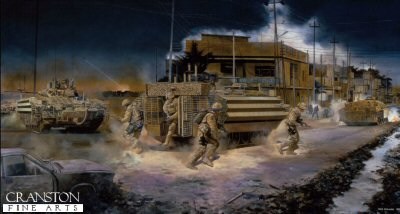 Operation Charge of the Knights, Basra, Iraq, April 2008 by David Rowlands.