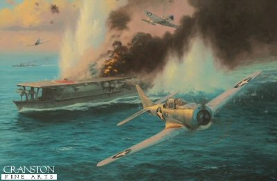 Midway - Attack on the Soryu by Anthony Saunders.