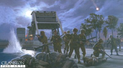 Pegasus Bridge - Airborne Storm by Simon Smith.