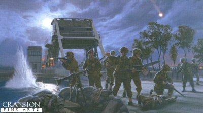 Pegasus Bridge - Airborne Storm by Simon Smith.