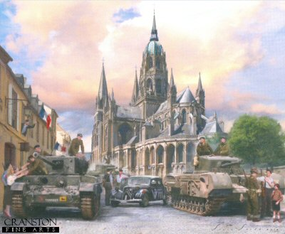 The Liberation of Bayeux by Simon Smith.