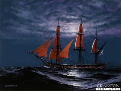 HMS Euryalus - Shadowing the Fleet by Ivan Berryman. (P)