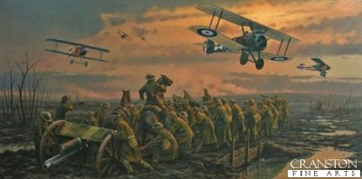 The Big Push - Passchendaele 1917 by Anthony Saunders.