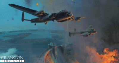 The Dambusters - Three Good Bounces by Robert Taylor.