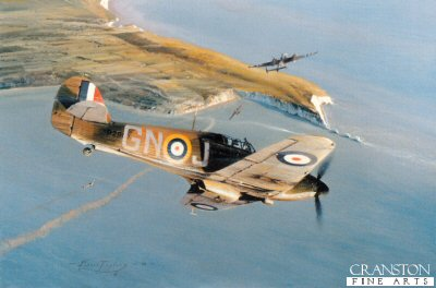 Hurricane Attack by Robert Taylor. (GS)