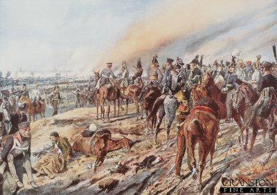 Battle of Leipzig by Richard Knotel.