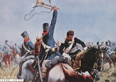 The Prussian Trumpeter by Richard Knotel.