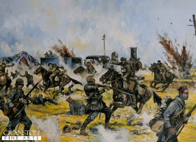 Inniskilling Dragoons at Amiens by Jason Askew. (PC)