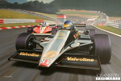 Ronnie Peterson - The Final Victory by Ivan Berryman. (P)