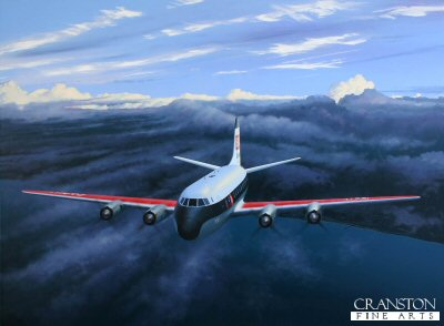 Viscount Outbound by Ivan Berryman.