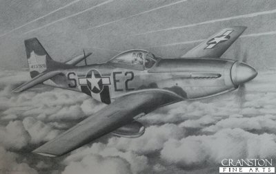 P-51D Mustang 41-3926 by G Henderson.