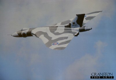 Vulcan B Mk2 XM594, 44 Rhodesia Squadron, RAF Waddington. (PHOTO) by R P Chapman.