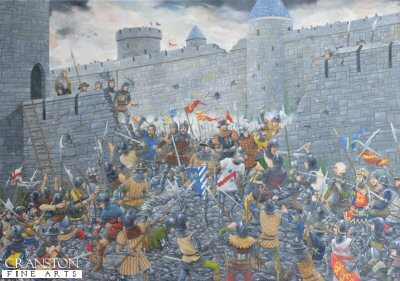 The Siege of Harfleur, 1415 by Brian Palmer. (GL)