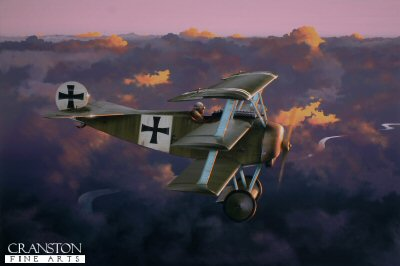 Into the Sun - Leutnant Werner Voss by Ivan Berryman. (P)