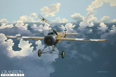 The First Ace - Max Immelmann by Ivan Berryman. (P)