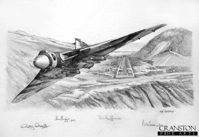 Ascension Departure by Ivan Berryman. (P)