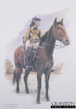 Royalist Harquebusier Officer by Chris Collingwood.