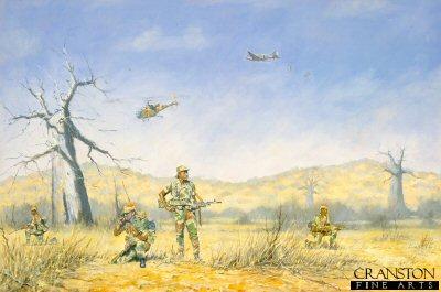 RAR Fireforce 1979 by John Wynne Hopkins.