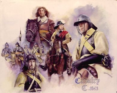 Cavalry 1643 by Chris Collingwood.