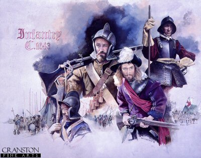 Infantry 1643 by Chris Collingwood.