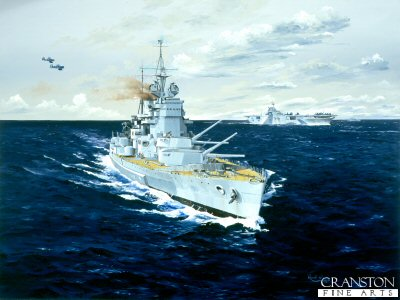 HMS Duke of York by Randall Wilson.