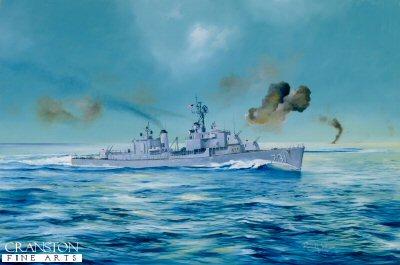USS Maddox by Randall Wilson. (Y)