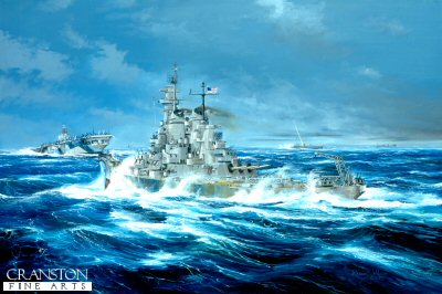 USS New Jersey, batten down the Hatches by Randall Wilson.