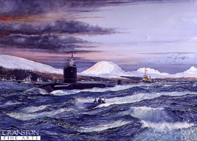 Dawn Departure by Robert Barbour.