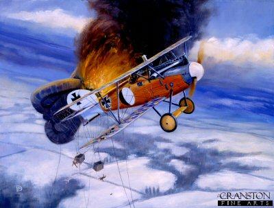 Balloon Buster, 25th January 1918 by David Pentland. (AP)