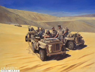Paddys Troopers, The Sidi Haneish Road, 17th July 1942 by David Pentland.