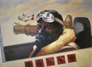The Red Tails Never Lost a Bomber by Clyde Heron.