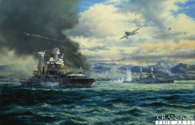 Pearl Harbor, USS California, by Anthony Saunders