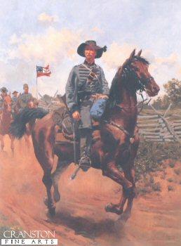 1st Virginia Cavalry 1861 by Jim Lancia.
